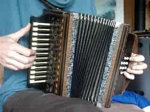 STAMIROWSKI Polish antique  accordion restored POLKA
