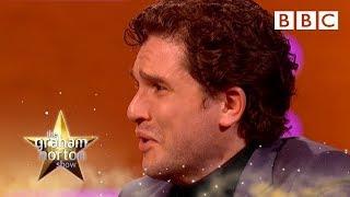 Kit Harington's emotional goodbye to Jon Snow 😭- BBC The Graham Norton Show