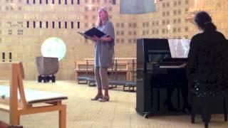 Carl Nielsen: I aften - sang Christina Dahl