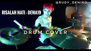 Risalah Hati Dewa cover Rock (Drum Cam)