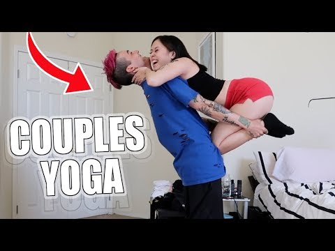COUPLES YOGA CHALLENGE! With My Girlfriend