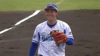 一塁手、佐野・中川大志選手 二塁手、飛雄馬・大河選手 遊撃手、山下・...