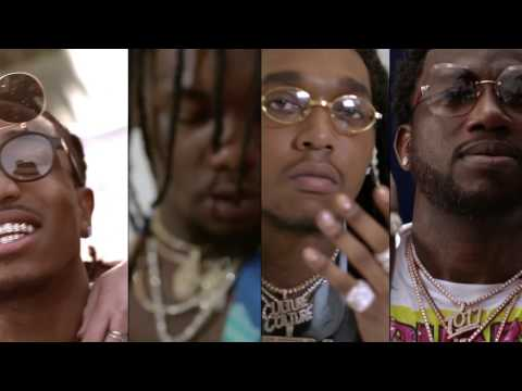Migos - Slippery feat. Gucci Mane [Official Video]