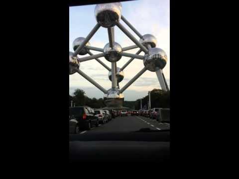 Tour à Bruxelles (Atomium)