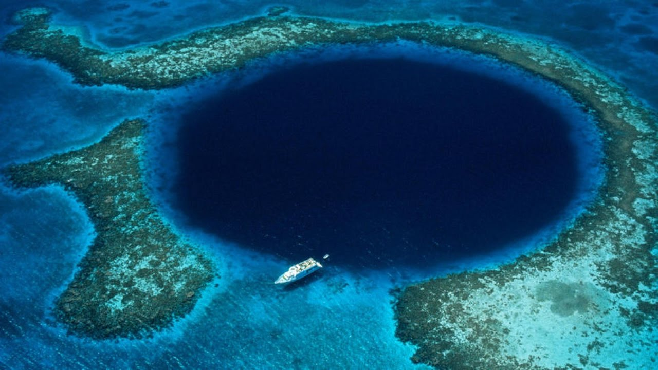 Image result for The Great Blue Hole Of Belize