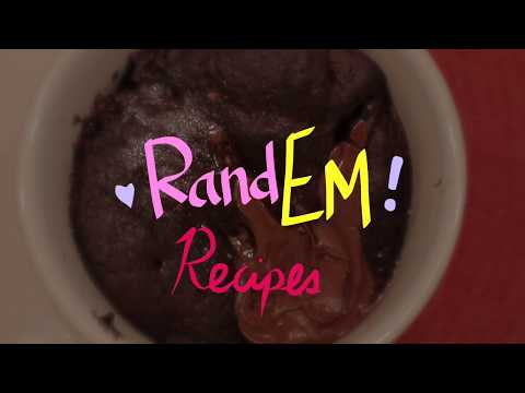 RandEm Recipes: Chocolate Therapy Mug Cake