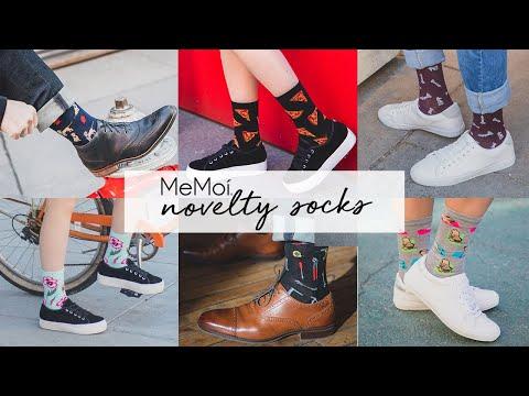 Colorful & Fun Novelty Socks   Men & Women Novelty Socks   MeMoi