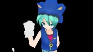 MMD 【Miku Sonic Cosplay】   - Criminal-