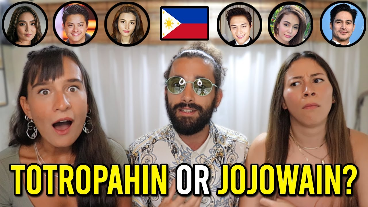 FOREIGNERS Takes On JOJOWAIN or TOTROPAHIN Pinoy CHALLENGE! (Who would WE DATE?)
