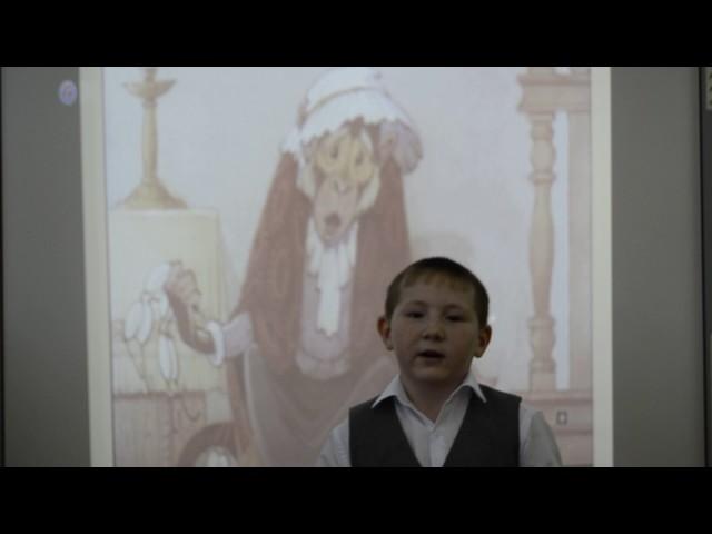 Изображение предпросмотра прочтения – ЛинарГафурьянов читает произведение «Мартышка и очки» И.А.Крылова