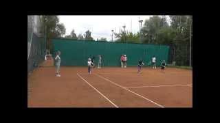 """Теннисный лагерь """"Вулкан""""."""