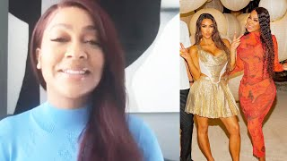 Et's melicia johnson spoke with lala anthony about her experience celebrating long-time friend kim kardashian's 40th birthday on a private island. a...