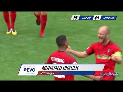 SC Freiburg II vs. OFC: Die Höhepunkte und Stimmen zum Spiel