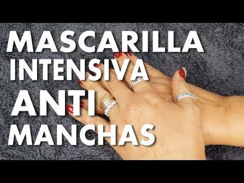 ELIMINA LAS MANCHAS DE LA EDAD EN LAS MANOS/PIELES MADURAS