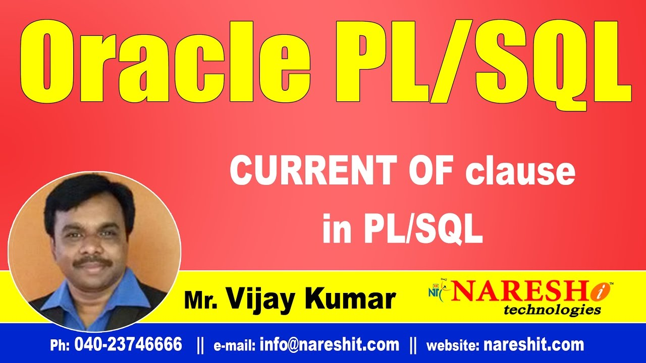 Pl/sql oracle tutorial, oracle introduction, pl/sql basics youtube.