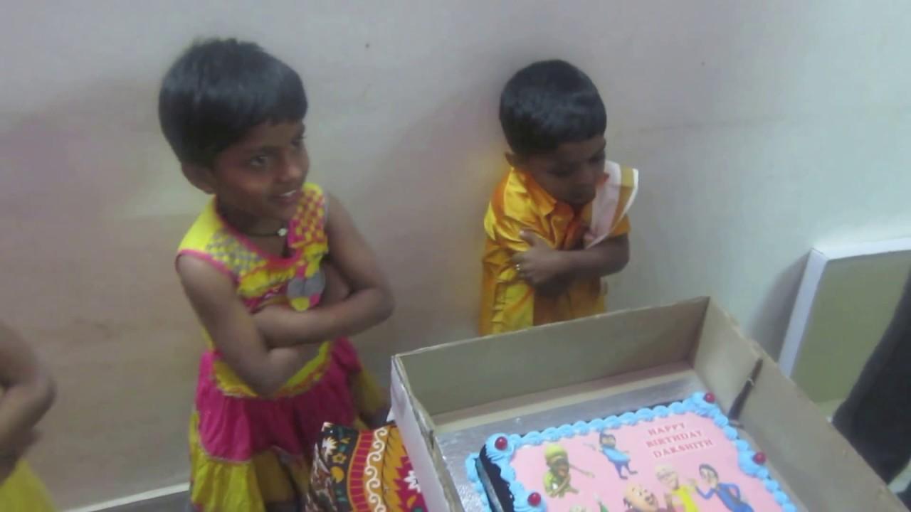 Motu Patlu Cake Opened Telugu Youtube