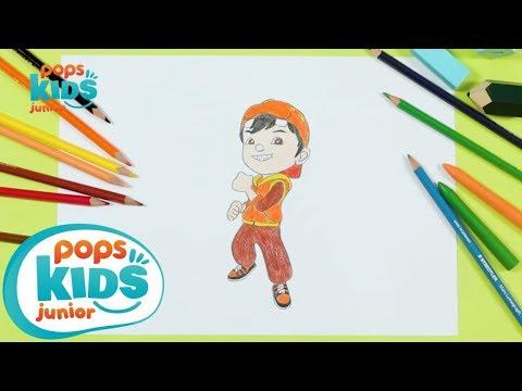 Cách Vẽ Boboiboy Phim Hoạt Hình Boboiboy | Siêu Nhân Bút Chì Hướng Dẫn Vẽ Tập 7
