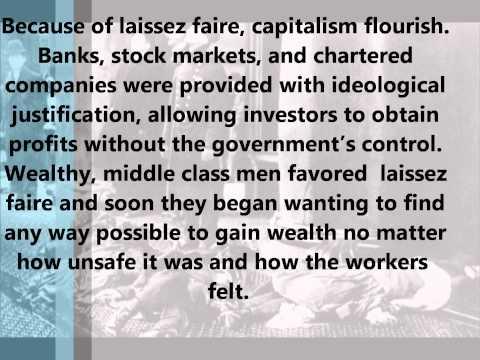Capitalism Laissez faire Positivism Utopian Socialism History project.wmv