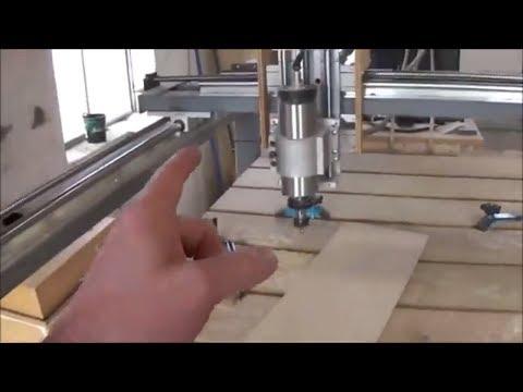 DIY CNC router build  Frame and Gantry Details