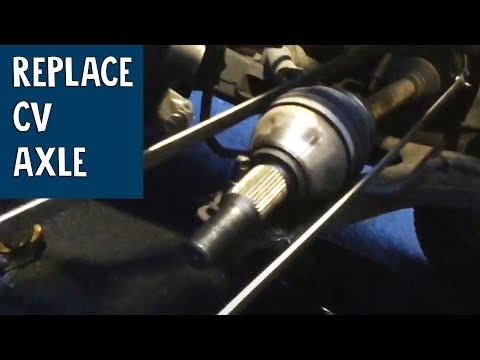 How to replace Cv Axle – Buick Rendezvous