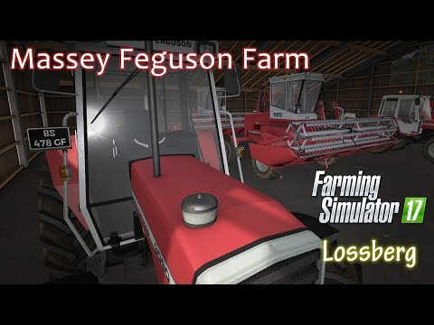 Massey Ferguson Farm Episode 13 - Farming Simulator 17