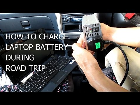 how to charge laptop battery inside your car thru car. Black Bedroom Furniture Sets. Home Design Ideas