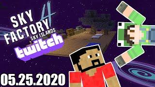 05.25.2020 SkyFactory 4 Day 8 w/ FeelsBadPat | Minecraft - Twitch Vod