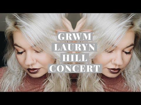 GRWM Lauryn Hill Concert