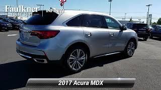 Used 2017 Acura MDX w/Technology Pkg, Mechanicsburg, PA HB024381