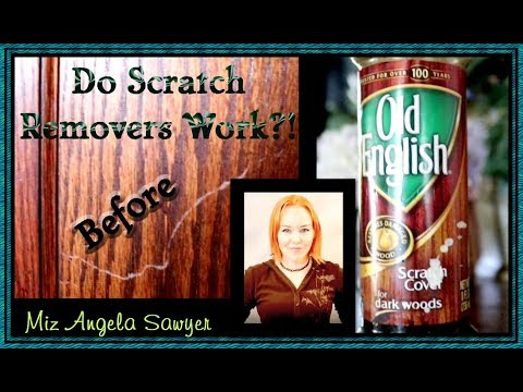 DIY | How to Use Wood Scratch Remover | Old English Use and Review