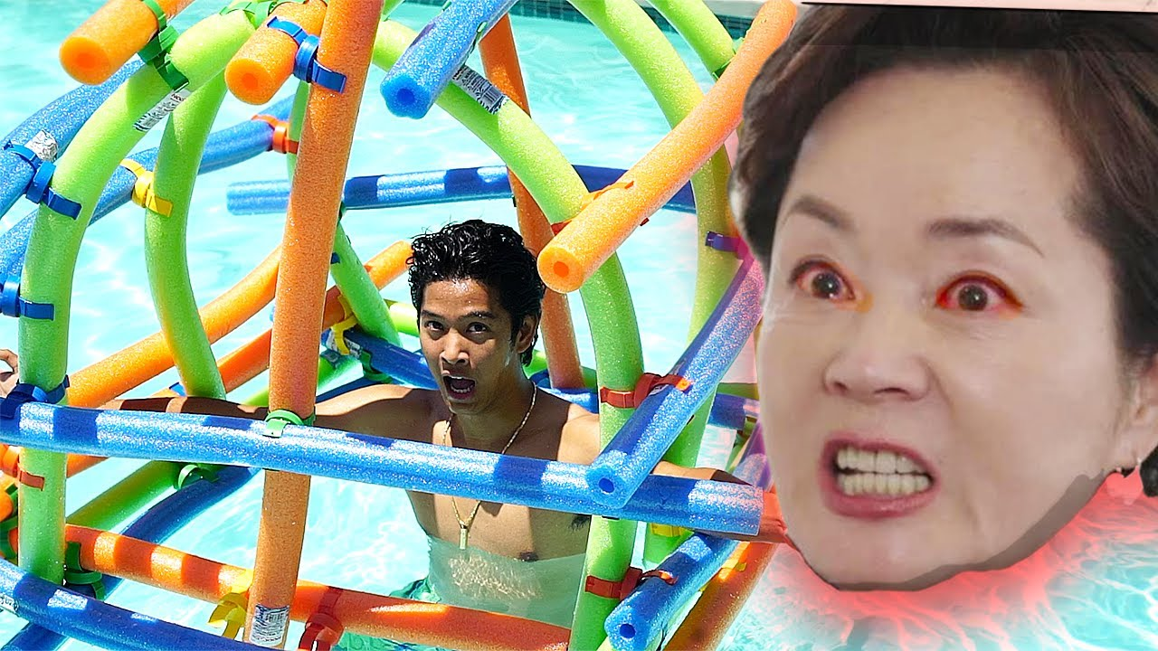 giant-noodle-fort-in-pool