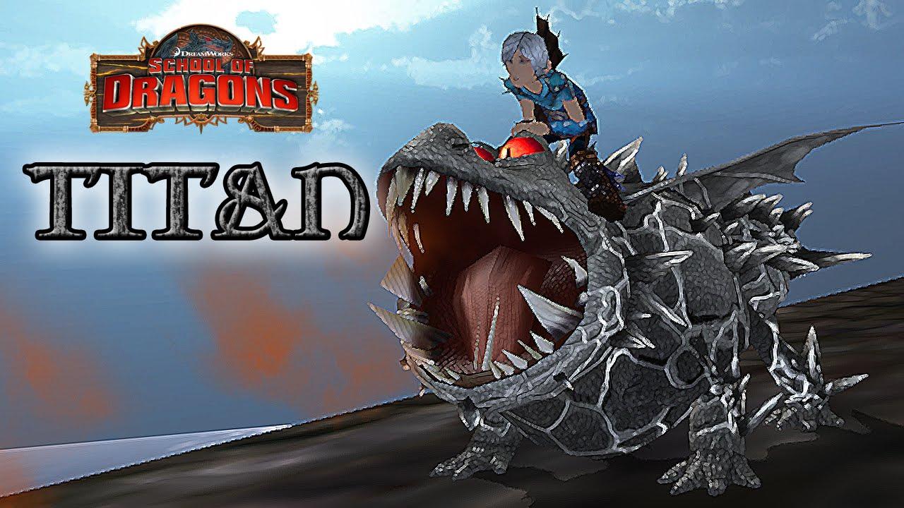 TITAN Gronckle - School of Dragons - YouTube