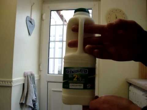 Ice Cold Milk Chug Attempt 1 Litre - 2 Pints - 34 oz