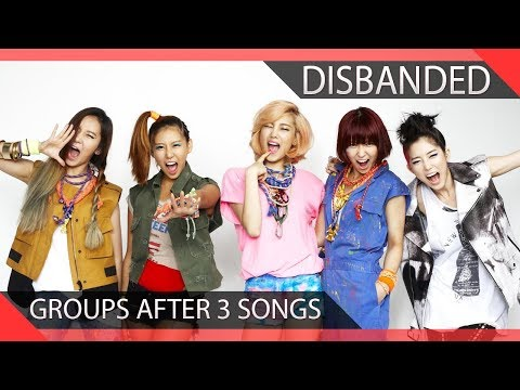 10 KPOP Groups Who Disbanded After 3 Songs