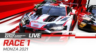 LIVE FROM MONZA - GT2 - RACE 1 - FANATEC GT2 SERIES - 2021