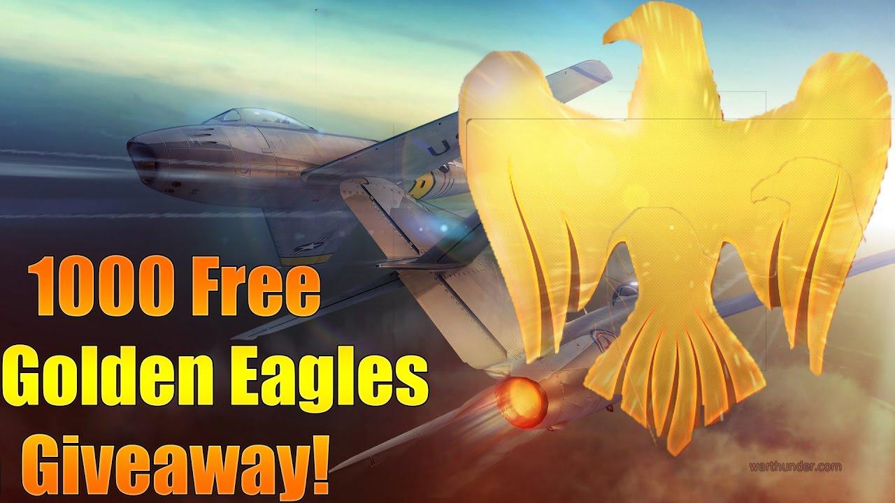 WAR THUNDER 1000 GOLDEN EAGLES GIVEAWAY! Ha-Go Realistic Battles PS4 - YouTube