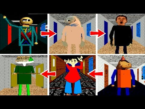 NEW EVOLUTION of Baldi's Basics in Education & Learning *MOD*
