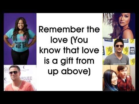 Seasons of Love - Glee Cast (Lyrics)