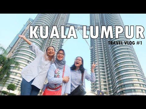 TRAVEL VLOG#1: Kuala Lumpur (Pertama Kali Pergi Sendiri?!) | Amyra Irzanti