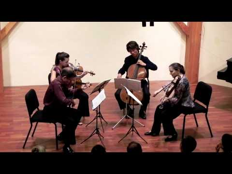 Felix Mendelssohn | String Quartet in E flat Major, Op. 44 No. 3 (1838) - Part 2 & 3
