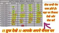 Desawar single jodi date fix jodi 100% Gali+ faridabad+ghaziabad satta pakka 101 satta king