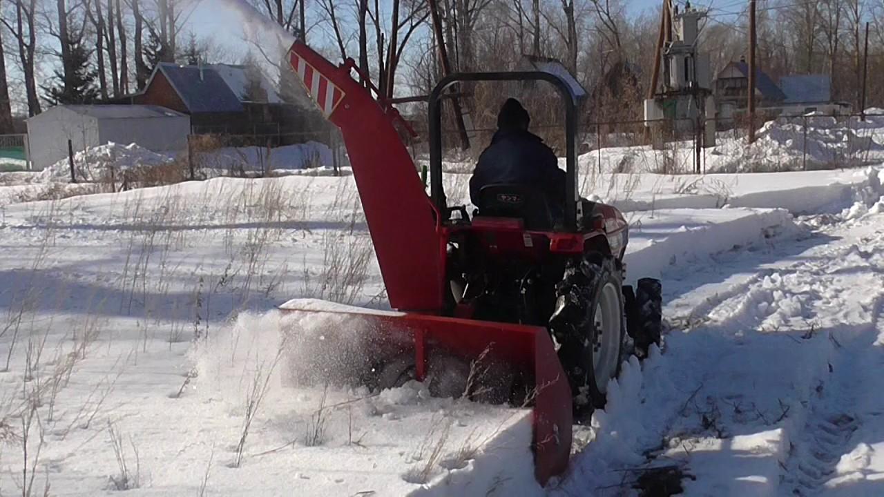 Снегоуборщик для минитрактора своими руками фото 735