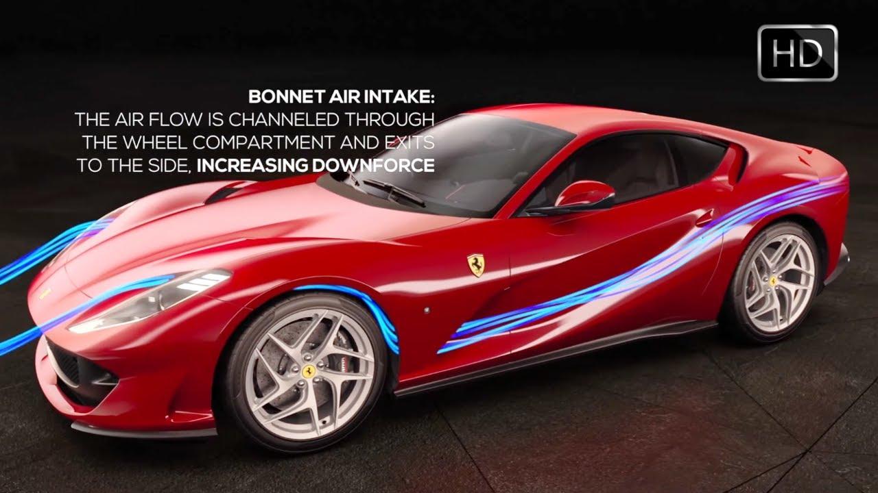 2018 ferrari 812 0 60. plain 812 2018 ferrari 812 superfast aerodynamics engine u0026 vehicle dynamics  features hd intended ferrari 0 60