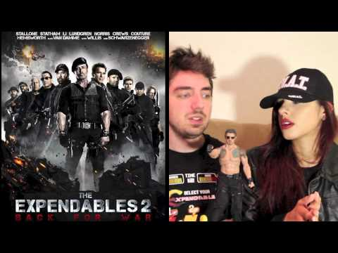 The Expendables 2 Movie Review With Sean Long & BatgirlRaquel! Warning! SPOILERS!!!