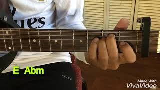 "Myo Gyi ( မ်ိဳးႀကီး) - "" မိုး"" သီခ်င္း guitar တီးနည္း"