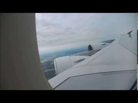 Thai Airways A380 flight Bangkok (BKK) to Tokyo (NRT)