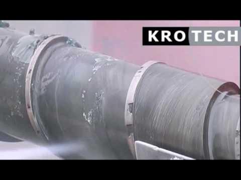 Plastic industrie - droogijsreiniging