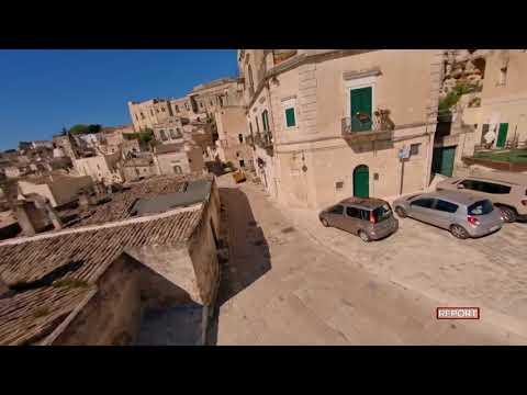 (HD) RAI - Report - Matera - Rioni Sassi - Riprese...