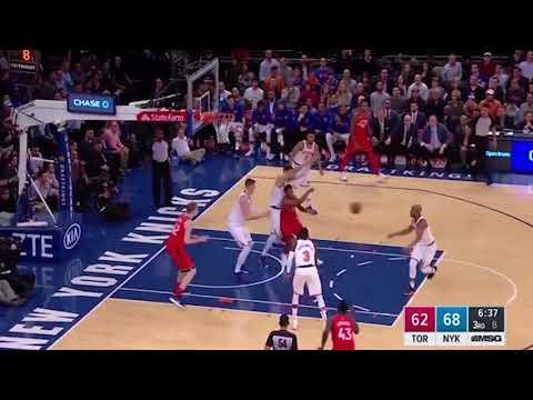 New York Knicks 28-0 run to win Over Raptors - Raptors vs Knicks - Nov 22, 2017