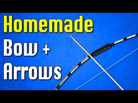 How to Make a Bow and Arrow at Home | Easy Bow Tutorial
